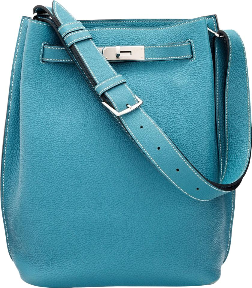 Hermès Jean Togo Leather So Kelly Shoulder Bag