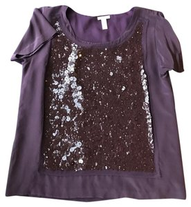 J.Crew Top Dark Plum