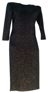 French Atmosphere Evening Midi Dress