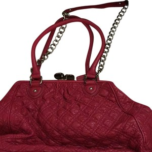 Carlos by Carlos Santana Satchel in Dark Pink
