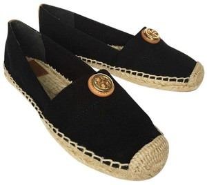 Tory Burch black, tan Flats