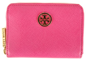 Tory Burch Tory Burch Hot Pink Saffiano Leather