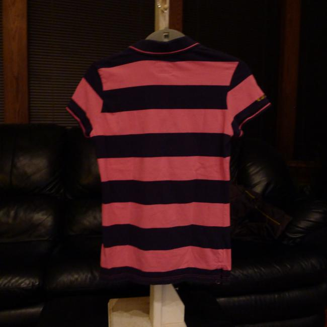 U.S. Polo Assn. T Shirt Pink and navy Image 1