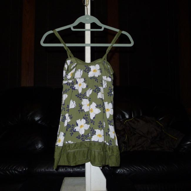 Abercrombie & Fitch Top Olive green