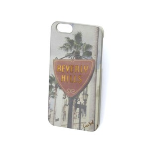 Case Yard NEW Cherry Wood iPhone Case with Beverly Hills Design, iPhone 7