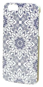 Case Yard NEW White Wood iPhone Case with Bohemian Tile Design, iPhone 6