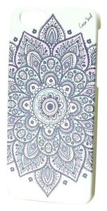 Case Yard NEW White Wood iPhone Case with Dakota Mandala Design, iPhone 6s+