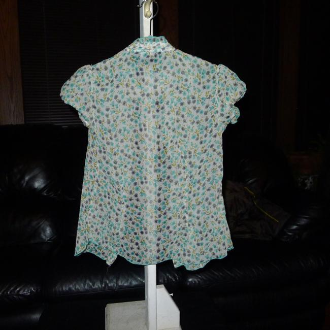 Angie Top Light green, multi Image 1
