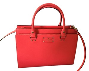 Kate Spade Satchel in Hot Rose