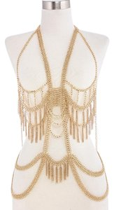 Haus BOLD ! Goddess Morbe Body Gold Tone Chain