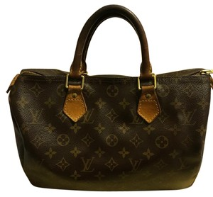 Louis Vuitton Satchel in Brown multi