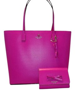 Kate Spade Sawyer Street Tori Tote in Pink