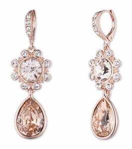 Givenchy Givenchy Rose Goldtone Drop Earrings