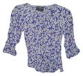 Angie Top Blue, white, multi Image 0