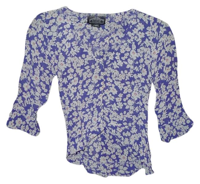 Preload https://item4.tradesy.com/images/angie-blue-white-multi-blouse-size-8-m-2025513-0-0.jpg?width=400&height=650