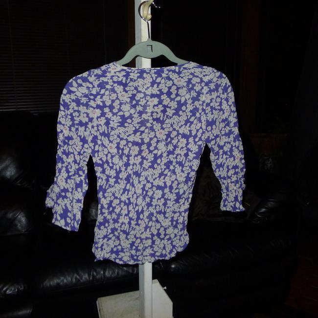 Angie Top Blue, white, multi