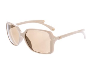 Louis Vuitton Nude acetate Louis Vuitton Flore Carre square sunglasses