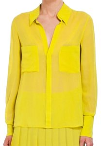 BCBGMAXAZRIA Top Lemongrass