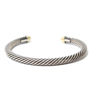 David Yurman David Yurman Cable Classics Bracelet with Gold
