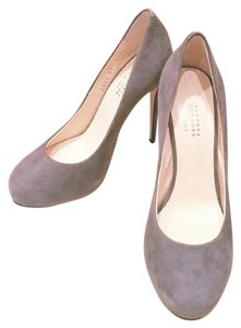 Barneys New York Grey Pumps