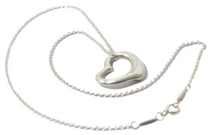 Tiffany & Co. Tiffany & Co .925 Elsa Peretti Open Heart Necklace