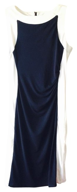 Item - Navy Above Knee Short Casual Dress Size 4 (S)