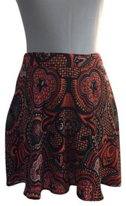 Forever 21 Mini Skirt Multicolored
