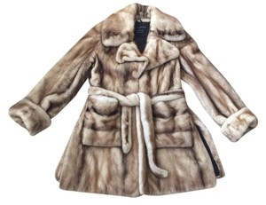 Juliano Mink Coat Real Fur Fur Coat
