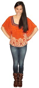 Edme & Esyllte Stripe Top Multi