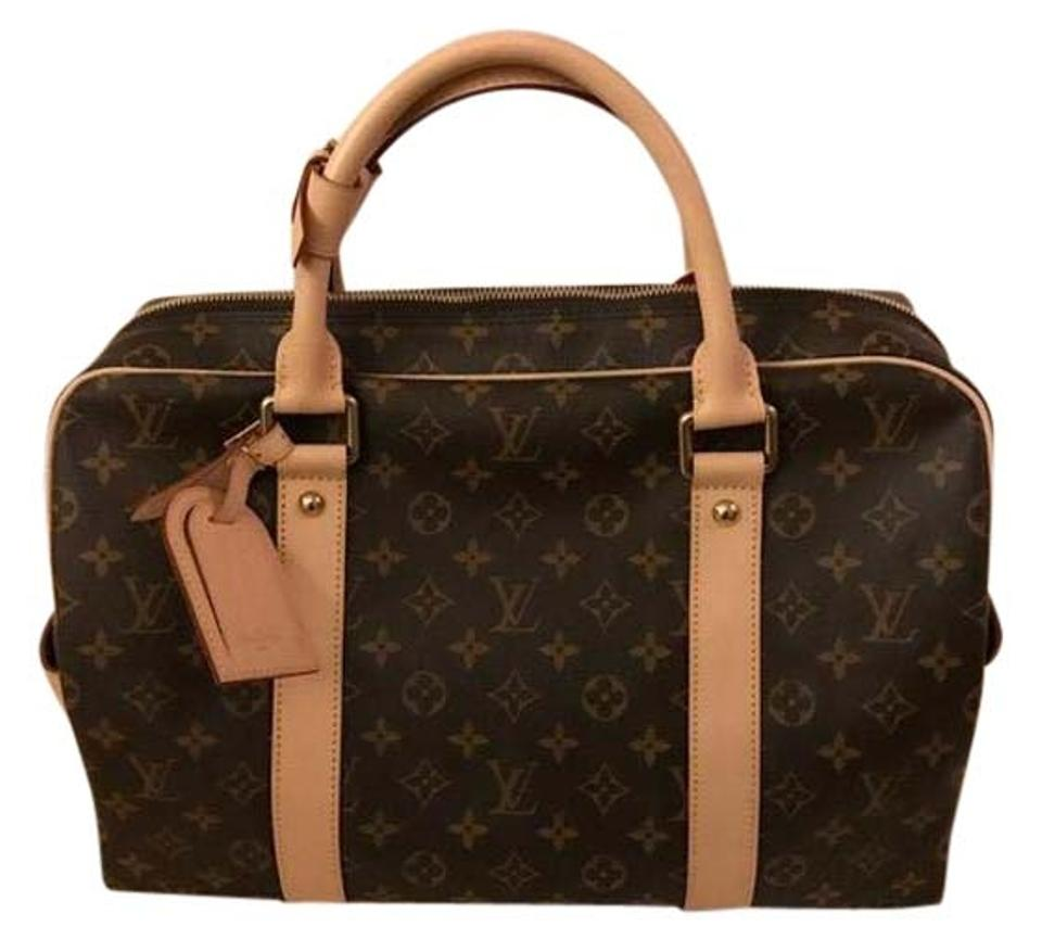 louis vuitton m40074 classic monogram travel bag weekend travel bags on sale. Black Bedroom Furniture Sets. Home Design Ideas