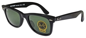 0959e16602 Ray-Ban G-15 Dark Green Lens with Black Frame Rb2140 Wayfarer 901 50 ...