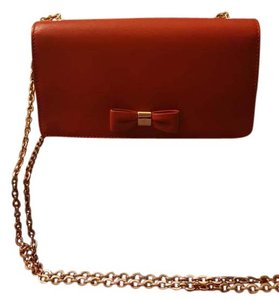 Mulberry Poppy Red Clutch