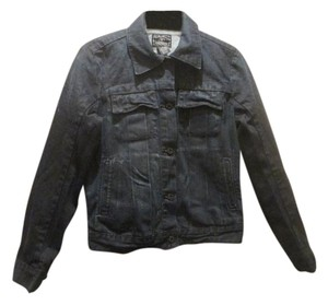 Lucky Brand blue Womens Jean Jacket