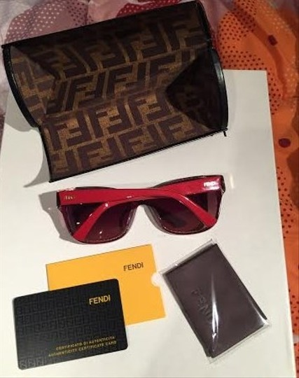Fendi Fendi Red sunglasses