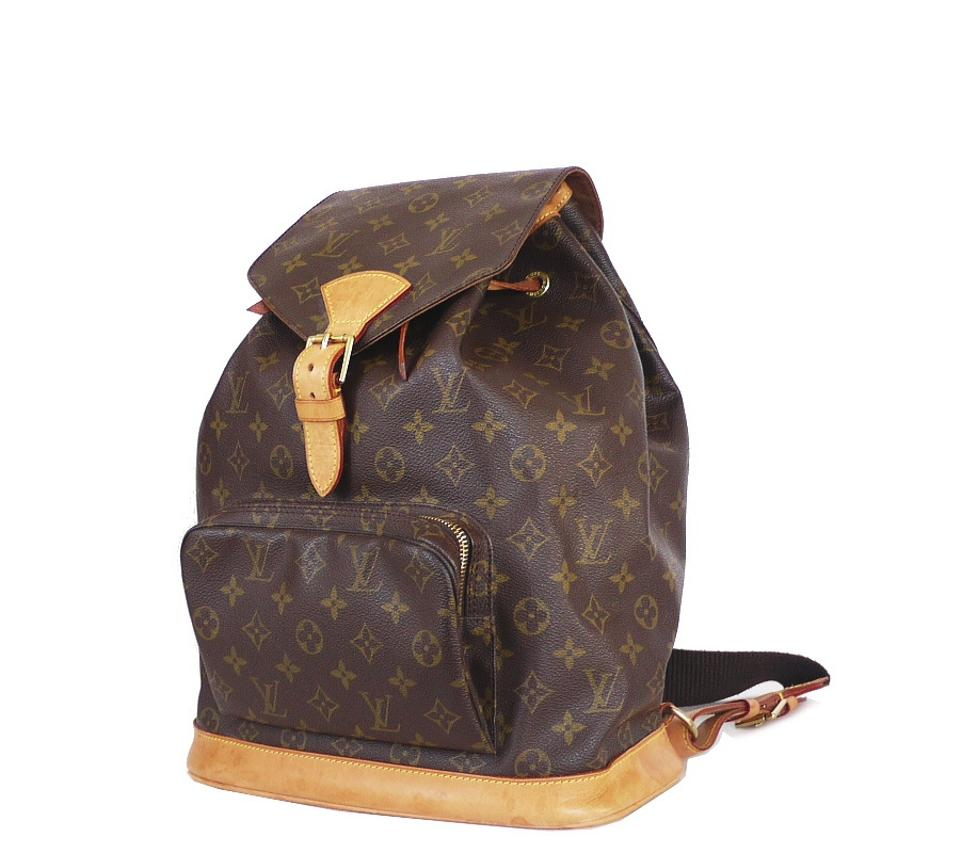 3eb44cd9131d Louis Vuitton Montsouris Gm Brown Monogram Backpack - Tradesy