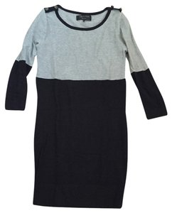 Rag & Bone short dress Multi Sweater Naval Clorblock Colorblock on Tradesy
