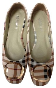 Other Soft Colors Vacation Plaid pastels Flats