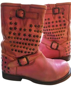 Bed Stü Pink Boots