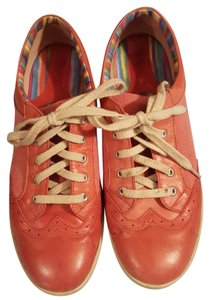 Børn Leather Hand Crafted Pink Flats