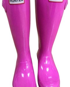 Hunter Pink Boots