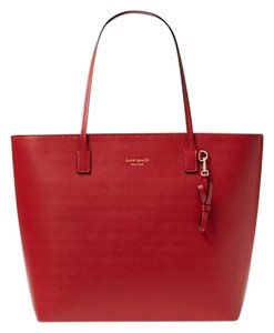Kate Spade Tori Sawyer Street Tote in Pillbox Red
