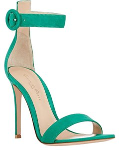 Gianvito Rossi Green Sandals