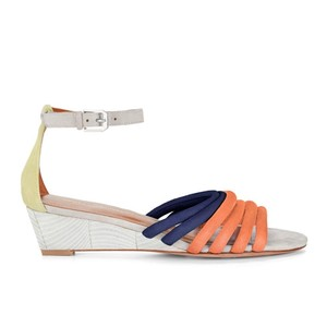 Rebecca Minkoff Spring Colorful Coral Lucie Sandals