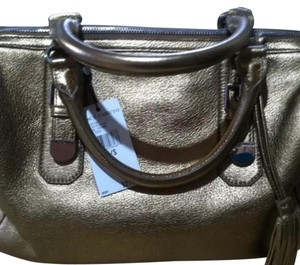 Vince Camuto Satchel in Gold