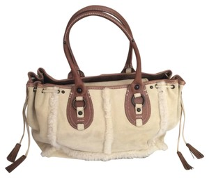 Banana Republic Tote in Light beige/ Brown