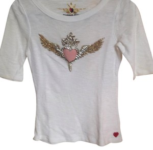 Twisted Heart Top White