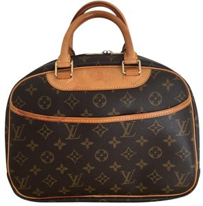 Louis Vuitton Neverfull Satchel in Brown