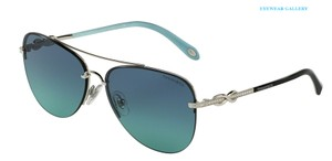 Tiffany & Co. TF 3054B 60019S (color) SILVER with TIFFANY BLUE LENS