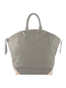 Alexander Wang Rose Gold Satchel in Grey