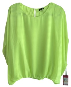 Vince Camuto Top Bright Yellow